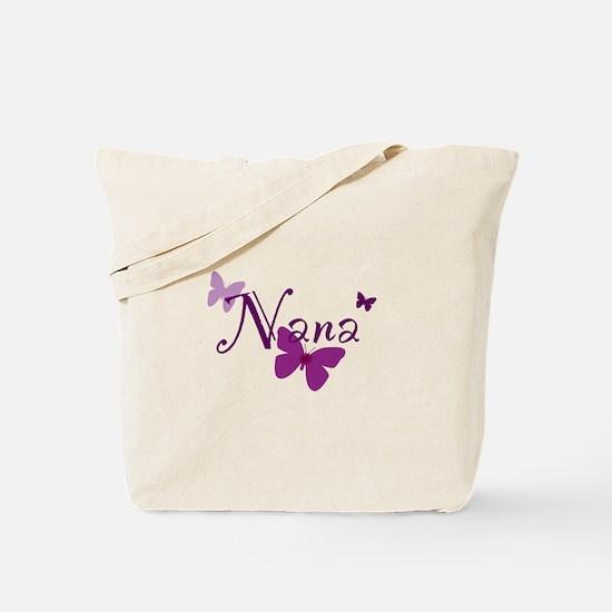 Nana Butterflys Tote Bag