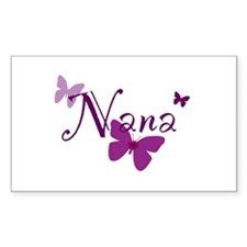 Nana Butterflys Decal