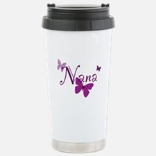 Nana Butterflys Stainless Steel Travel Mug