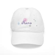 Nana Flowers Baseball Cap