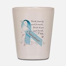 Prostate Cancer Survivor Shot Glass