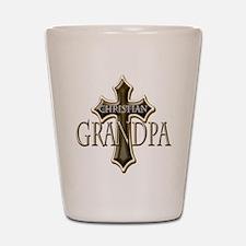 Christian Grandpa Shot Glass