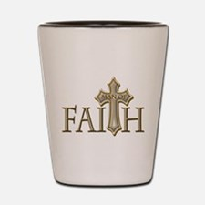 Man of Faith Shot Glass
