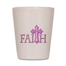 Woman of Faith Shot Glass