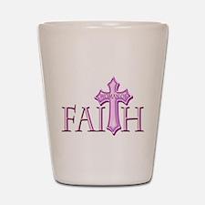 Woman of Faith Shot Glass