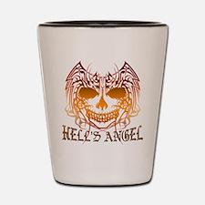 Hell's Angel Shot Glass