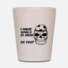 Goals in Mind Shot Glass
