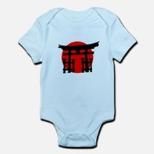 Japan Relief - Shinto Shrine Infant Bodysuit