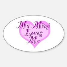 My Mimi Loves Me Decal