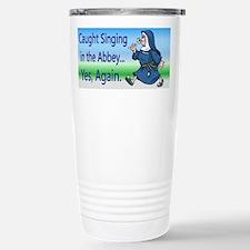 Singing Nun Stainless Steel Travel Mug