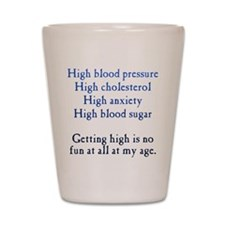 Old Age High Shot Glass