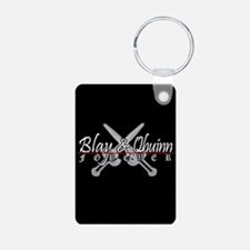 Blay and Qhuinn Forever Aluminum Keychain