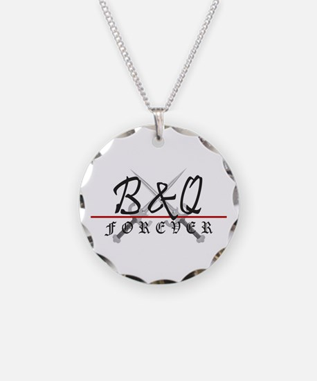 B&Q Forever Circle Charm Necklace
