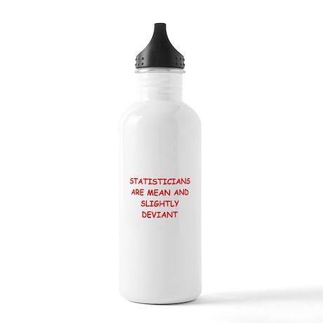 funny math joke Stainless Water Bottle 1.0L