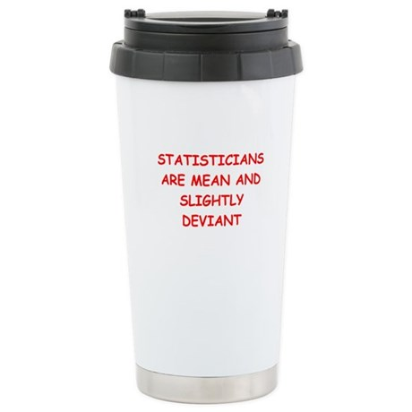funny math joke Stainless Steel Travel Mug