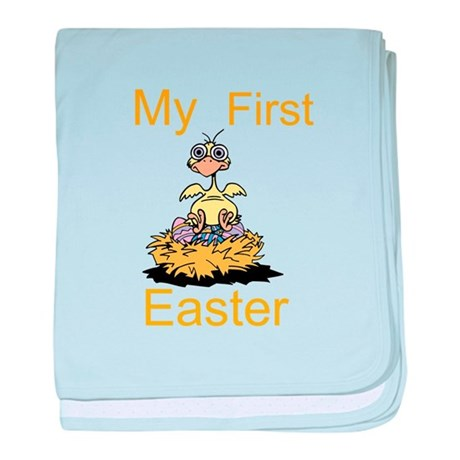 My First Easter baby blanket