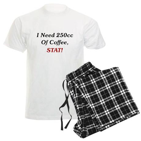 I Need 250cc Of Coffee Men's Light Pajamas