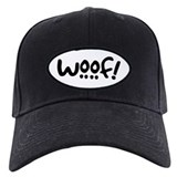 Dog Baseball Cap with Patch