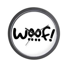 Woof! Dog-Themed Wall Clock