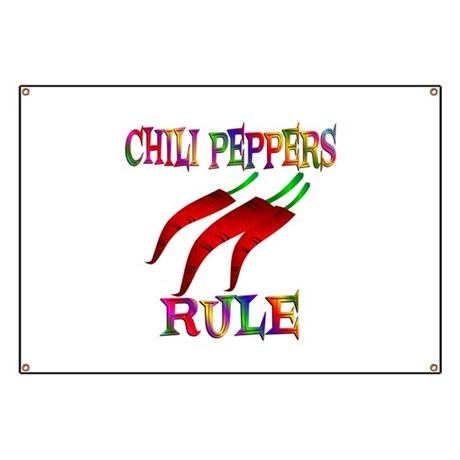 Chili Peppers Rule Banner