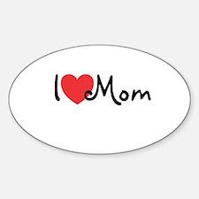 I Heart Mom Decal
