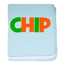 chip (pairs with old block) baby blanket