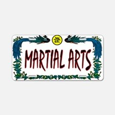 """Martial Arts"" License Plate"