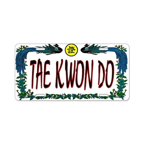 Tae Kwon Do License Plate