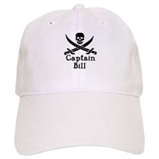 Baseball Captain Bill Baseball Cap