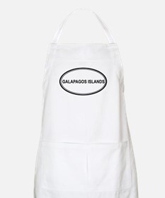 Galapagos Islands Euro BBQ Apron