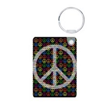 Peace Signs Keychains
