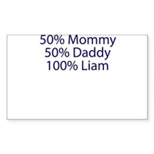 100% Liam Decal