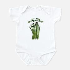 Ich Leibe Spargelzeit! Infant Bodysuit
