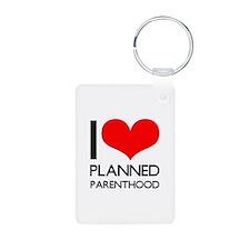 I Heart Planned Parenthood Keychains