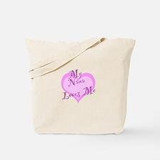 My Nana Loves Me Tote Bag