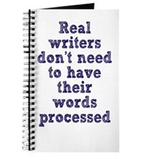 Writers and Word Processing Journal