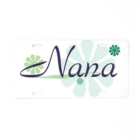 Fun Nana Aluminum License Plate