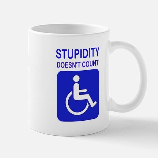 PARK ELSEWHERE Mug