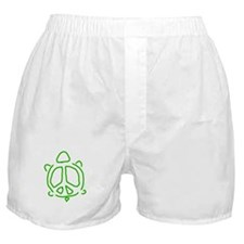 Peace turtle Boxer Shorts
