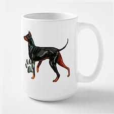 Manchester Terrier Dog Breed Large Mug
