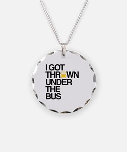 """""""Thrown Under the Bus"""" Necklace"""