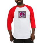 Peace Sign BASEBALL JERSEY (red)