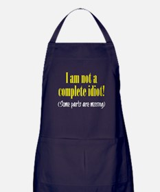 Not a Complete Idiot Apron (dark)