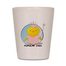 Popular Chick Shot Glass