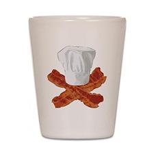Bacon Chef Shot Glass