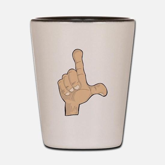 Hand - Loser Fingers Shot Glass