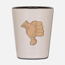 Hand - Thumbs Down Shot Glass