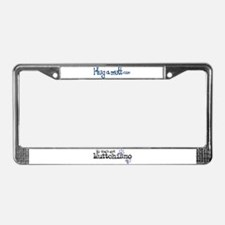 My Dog's Got Muttchismo License Plate Frame