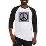 Peace Sign BASEBALL JERSEY (black)