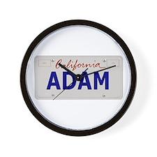 California Adam Wall Clock